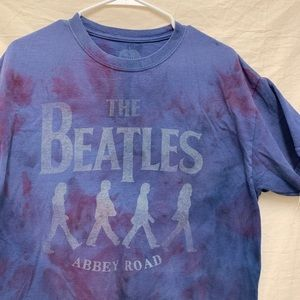 The Beatles Tie Dyed Shirt custom / Large